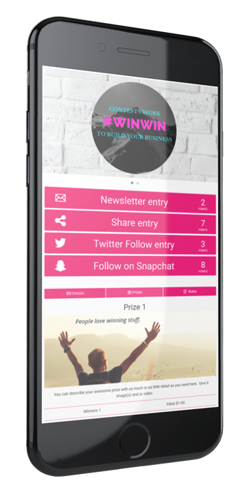 Rewards Fuel: Run contests and sweepstakes that'll grow your